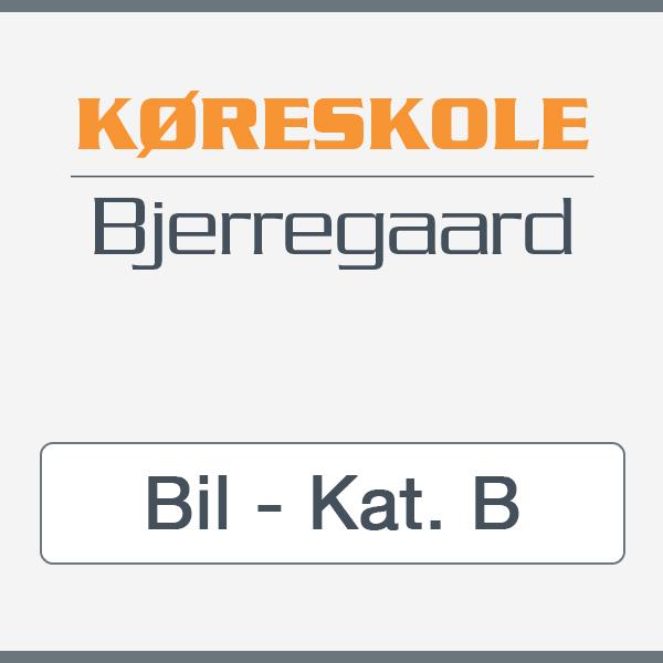 Kørekort til bil Kat. B