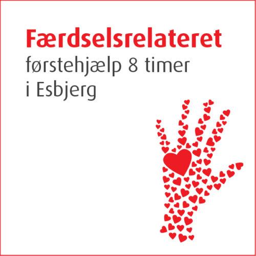 Færdselsrelateret førstehjælp 8 timer i Esbjerg