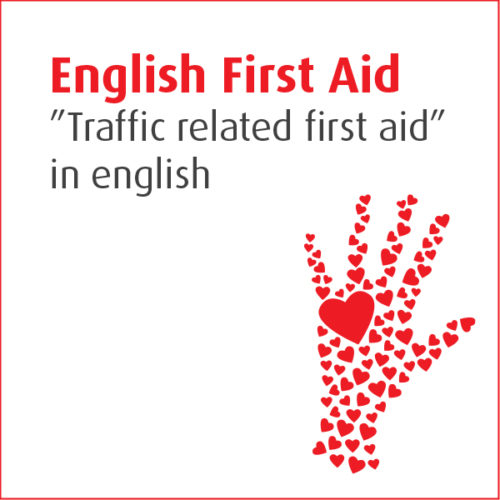 """""""Traffic related first aid"""" in english"""