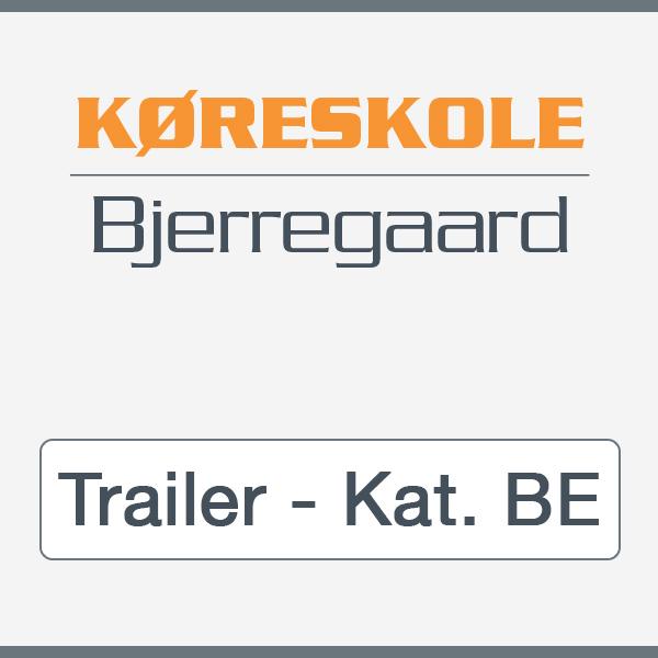 Kørekort til trailer Kat. BE