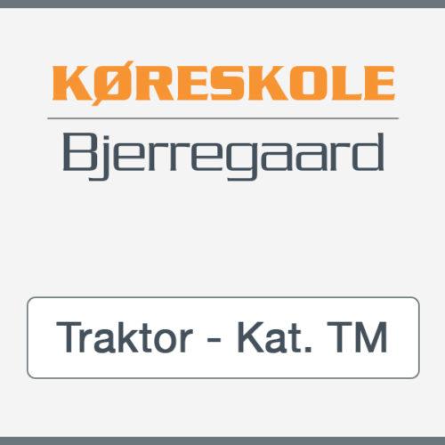 Kørekort til traktor Kat. TM